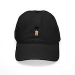 Seriously Pissed Off Cat Black Cap