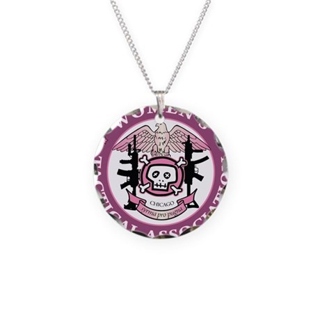 wtalogo7 09pink necklace circle charm by admin cp41360839