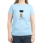 Seriously Pissed Off Cat Women's Pink T-Shirt