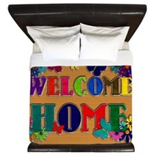 Welcome Home copy King Duvet