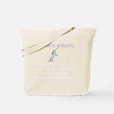 notaunicornwh Tote Bag