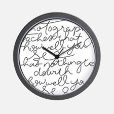 howellyousee Wall Clock