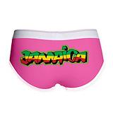Jamaica Ladies Boy Shorts