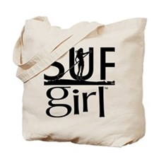 SUPgirl_T2_black Tote Bag