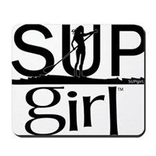 SUPgirl_T2_black Mousepad