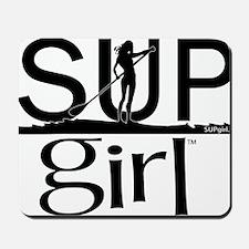 SUPgirl_T2_black Mousepad
