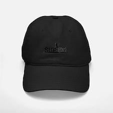 SUPgirl_T4_black Baseball Hat