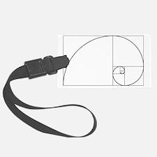 2000px-Fibonacci_spiral_34 Luggage Tag