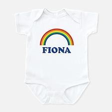 FIONA (rainbow) Infant Bodysuit