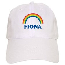 FIONA (rainbow) Baseball Baseball Cap