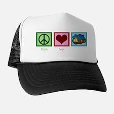 peacelovecampingwh Trucker Hat