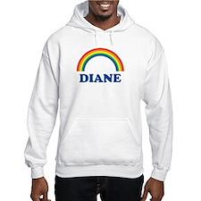 DIANE (rainbow) Hoodie Sweatshirt