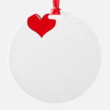 I-Love-My-Catahoula-dark Ornament