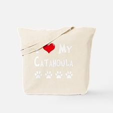 I-Love-My-Catahoula-dark Tote Bag