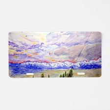 postcardcp Aluminum License Plate