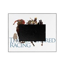 thoroughbred racing Picture Frame