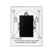 4754_organ_cartoon Picture Frame