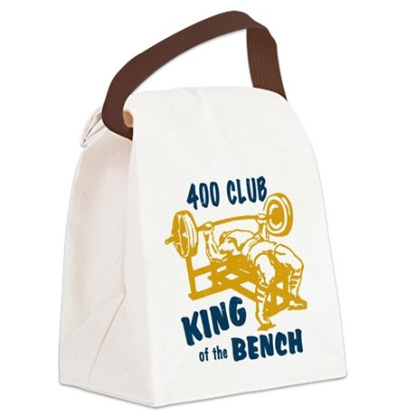 bench_kob_small_400 Canvas Lunch Bag