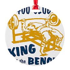 bench_kob_small_400 Ornament