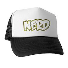 angry-nerd-02 Trucker Hat