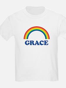 GRACE (rainbow) Kids T-Shirt