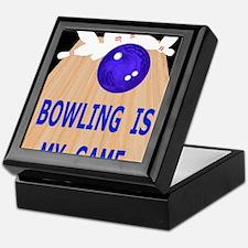 Bowling iPad Hard Case, My Game Keepsake Box