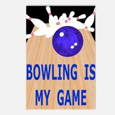 Bowling iPad Hard Case, M Postcards (Package of 8)