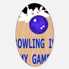 Bowling iPad Hard Case, My Game Decal