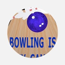 Bowling iPad Hard Case, My Game Round Ornament