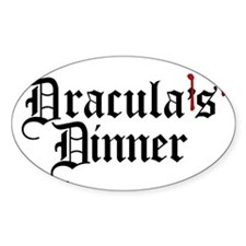 draculas-dinner_bl-t Decal