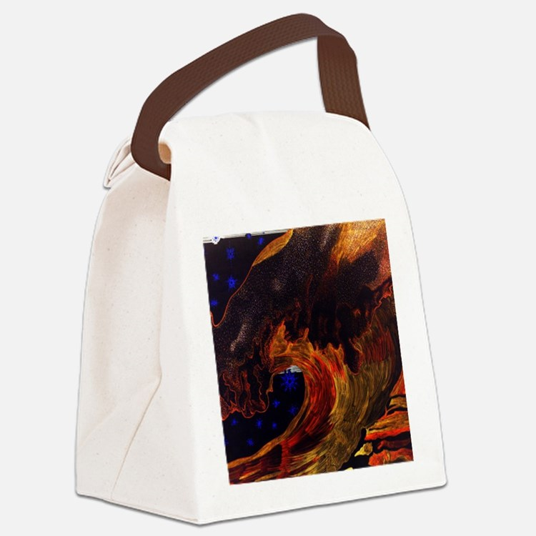 calendarcp Canvas Lunch Bag
