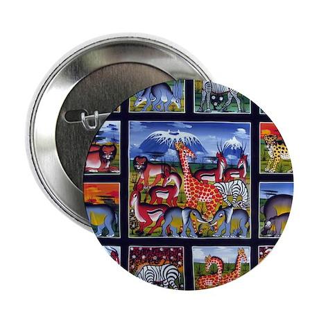 Many animals (Wanyama Wengi) Button