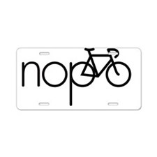 nopo Aluminum License Plate