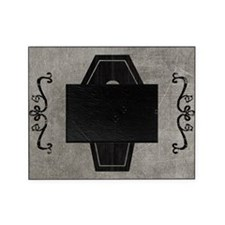 coffin_gray_11x18h Picture Frame