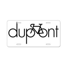 dupont Aluminum License Plate