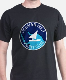 PERSIAN GULF YACHT CLUB South West As T-Shirt