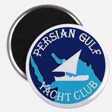 PERSIAN GULF YACHT CLUB South West Asian Ca Magnet