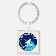 PERSIAN GULF YACHT CLUB South West Square Keychain