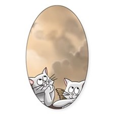 Sistine Cat-rubs Decal