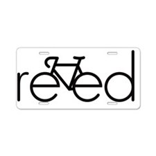 reed Aluminum License Plate