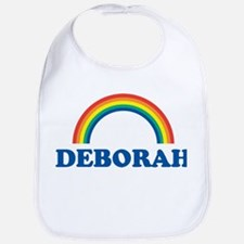 DEBORAH (rainbow) Bib