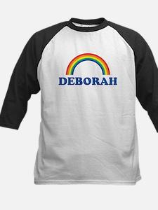 DEBORAH (rainbow) Kids Baseball Jersey