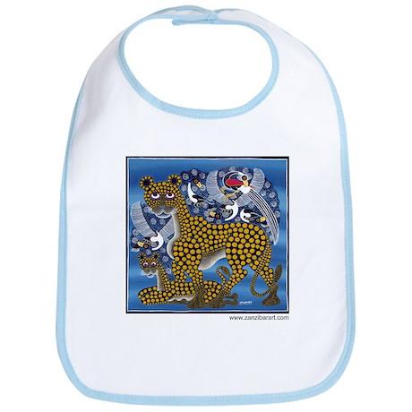 Leopards Bib