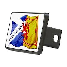 scotland saltire  lion ram Hitch Cover