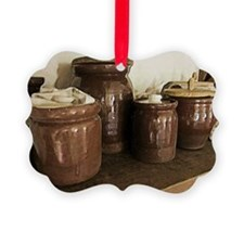 ceramic jars Ornament