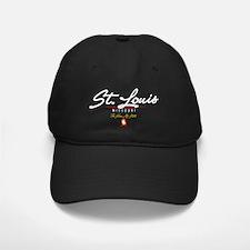 St Louis Script B Baseball Hat