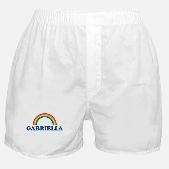 GABRIELLA (rainbow) Boxer Shorts