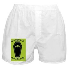 coffin_green_12x18v Boxer Shorts