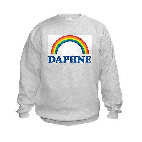 DAPHNE (rainbow) Kids Sweatshirt