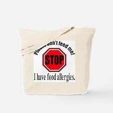 Food Allergies 1 Tote Bag